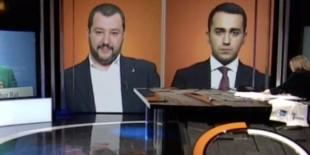 Salvini e Di Maio dalla Annunziata su RaiTre