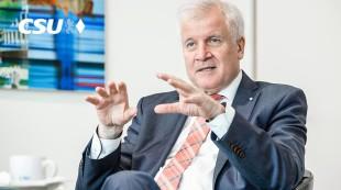Horst Seehofer, leader della Csu bavarese
