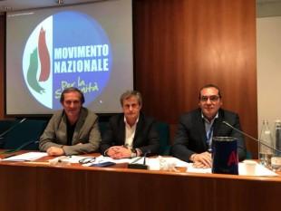 Roberto Menia, Gianni Alemanno e Marco Cerreto