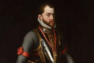 Filippo II in un ritratto di Antonio Moro