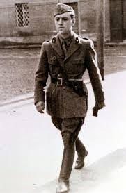 Sottotenente autiere Carlo Azeglio Ciampi.