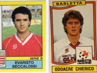 Figurine. Beccalossi e Chierico, due icone calciopop alla Disfida di Barletta