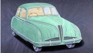 (Prototipo Alfa Romeo Gazzella, 1945. Da https://www.facebook.com/Le-vere-ALFA-Romeo)