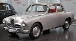 FOTO 5                        (Alfa Romeo 1900, 1950. Museo Storico Alfa Romeo, Arese)