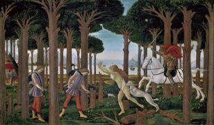 Storia di Nastagio degli Onesti del Botticelli, Prado