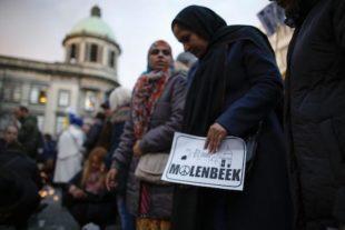 Donne musulmane a Moleenbeek in Belgio