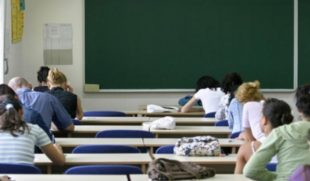 Studenti in classe