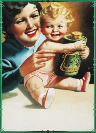 Una mamma secondo il grande artista fascista Boccasile