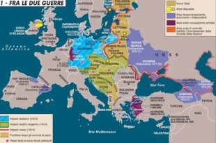 L'Europa tra le due guerre, la cartografia di Limes