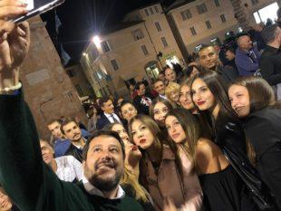 Salvini in Umbria per le regionali