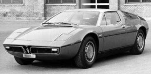 Maserati Bora, 1971- '78
