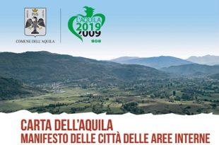 """Città. Ecco la """"Carta dell'Aquila"""": il manifesto per il rilancio delle aree interne d'Italia"""
