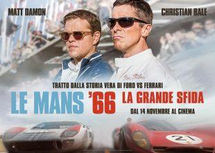 """Cinema. """"Le Mans 66. La grande sfida"""": per riscoprire il mito della corsa"""