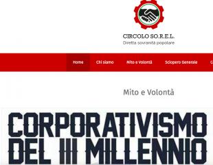 """Politica. Arriva Il """"Circolo Sorel"""", magazine di alternativa al neoliberismo"""