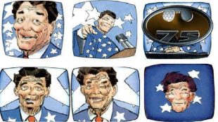 """Il punto. Per non morire (a destra) """"Fratelli di Reagan"""""""