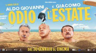 """Cinema (di M.Cabona). """"Odio l'estate"""": Algo Giovanni e Giacomo"""