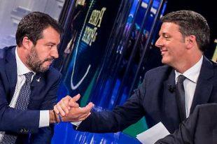 """Esegesi """"Salvini e/o Mussolini"""" di Buttafuoco/1. L'ansia di stravincere che logora i due Matteo"""