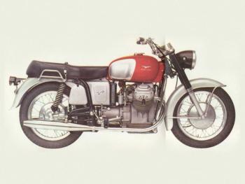 La Moto Guzzi V7 (1965)